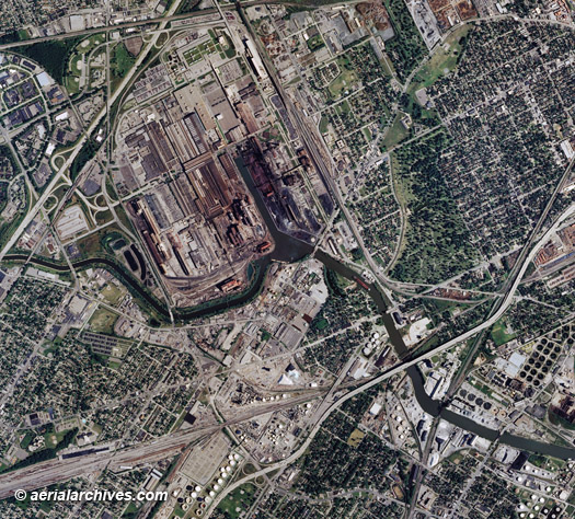 Aerial And Satellite Maps Of Michigan