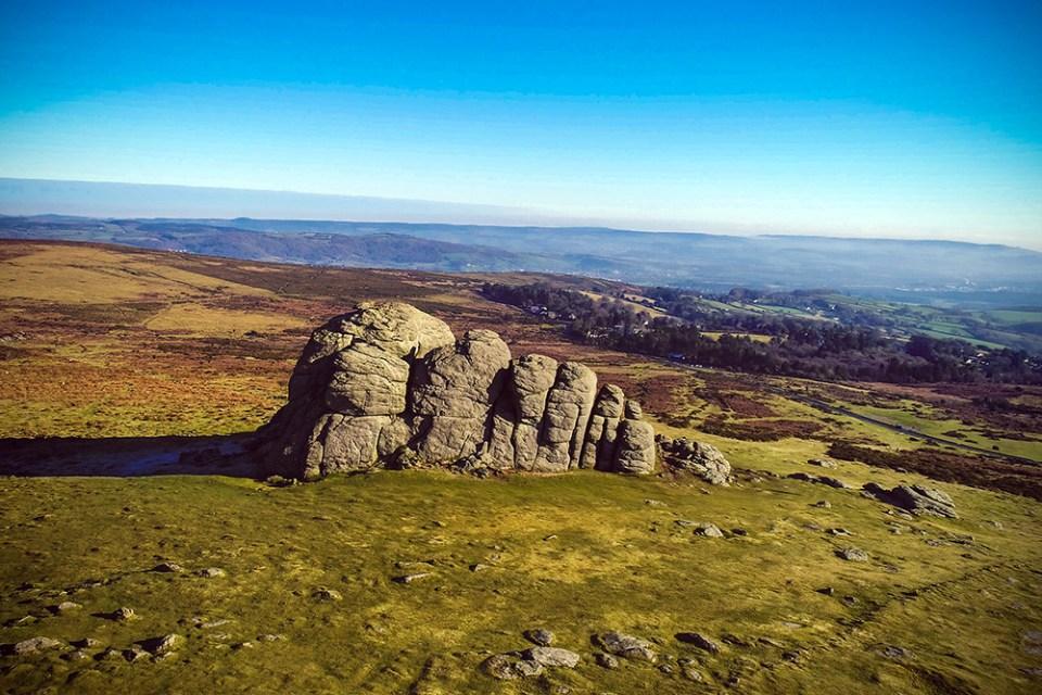 Aerial Filming: Haytor Dartmoor from Aerial Media Services