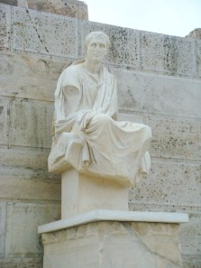 Statue of Dionysus at the Theatre
