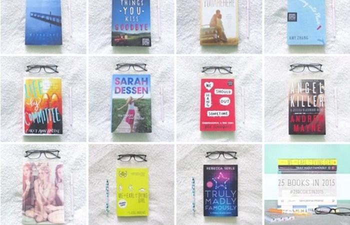 25 books in 2015 update