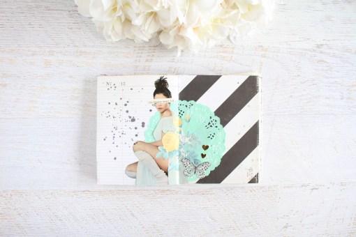 get messy season of fairytales art journal