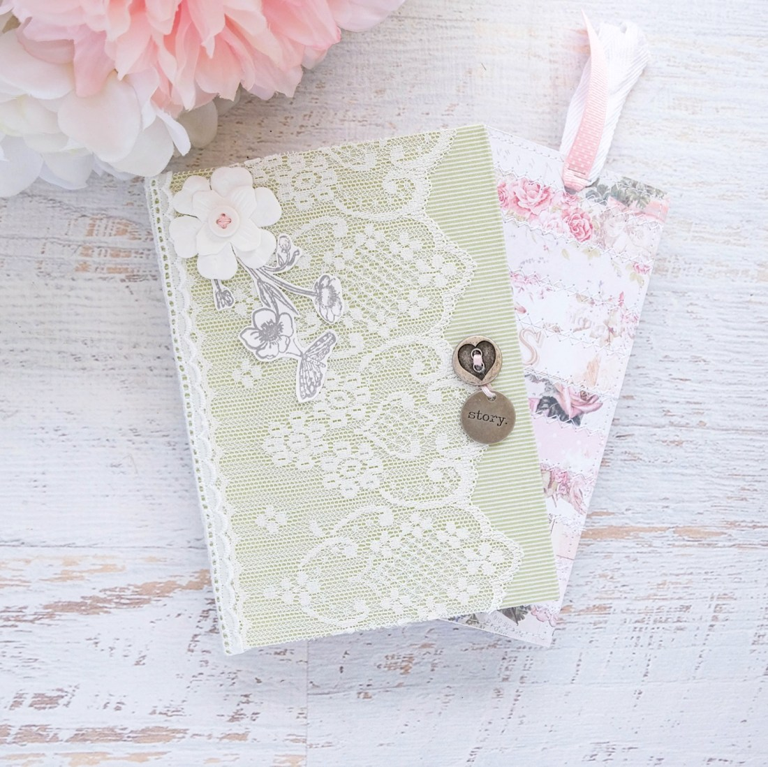 how to make an altered book journal