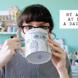 craft chat | my attempt at making a daily vlog