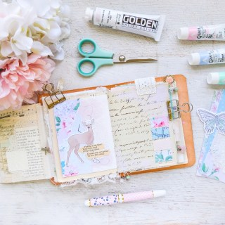 returning to my artist in bloom journal   journal with me ✩ 46
