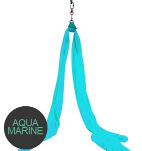 Aerial silks Aqua marine