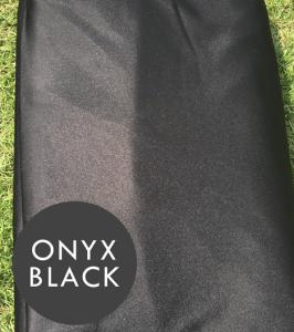 onyx aerial silks black