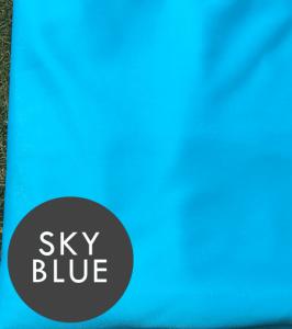 sky blue YOGA silks for sale