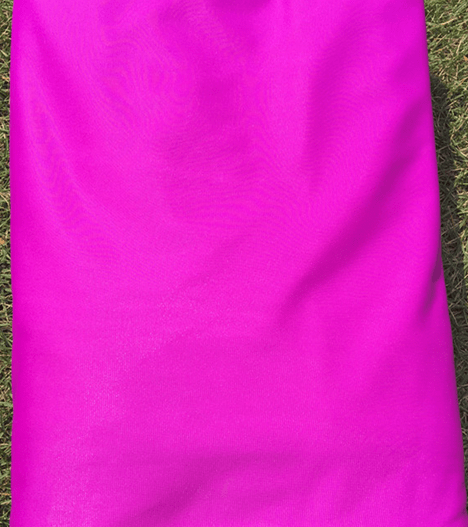 violet aerial silks