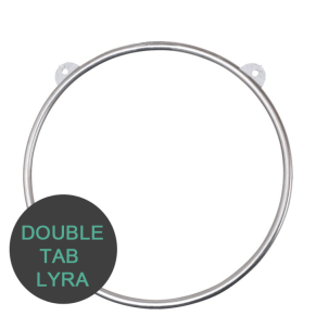 DOUBLE tab aerial lyra hoop for sale