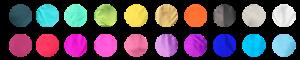Aerial Silks Colour options