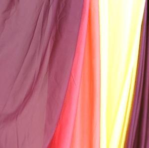 desert ombre Aerial Silk