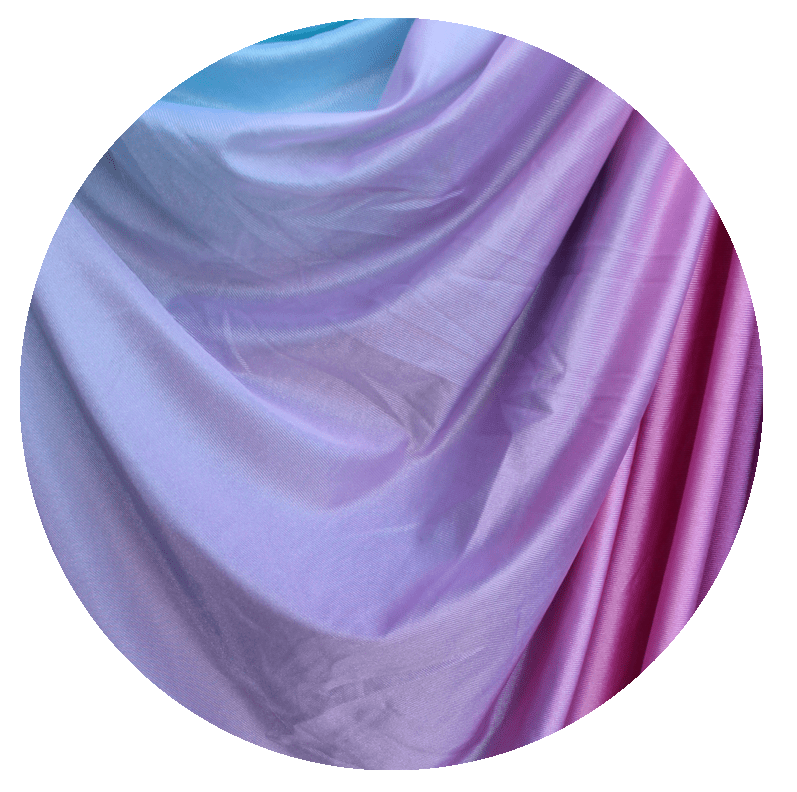 Fairy Floss Ombre Aerial Silks