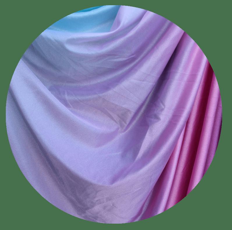Fairy Floss Ombre Aerial Silks