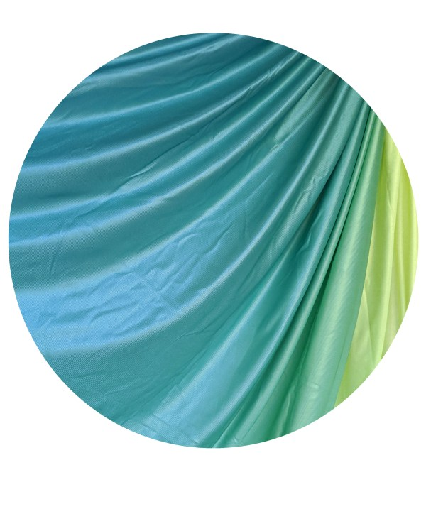 Green Yellow Ombre Aerial Hammock