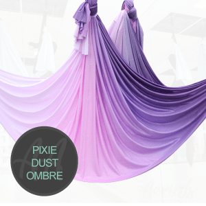 PIXIE DUST PURPLE OMBRE AERIAL YOGA HAMMOCKS FOR SALE