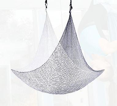 black white Aerial nets for sale