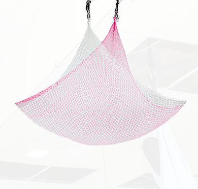 Pink White Aerial Net For Sale