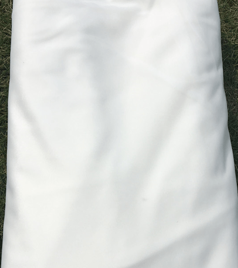 white Aerial Silks USA