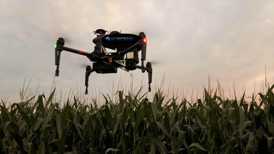 BLY-A il drone contro la piralide del mais