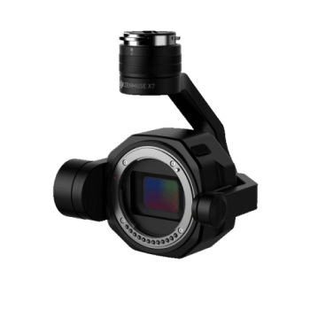 ZENMUSE X7 camera DJI