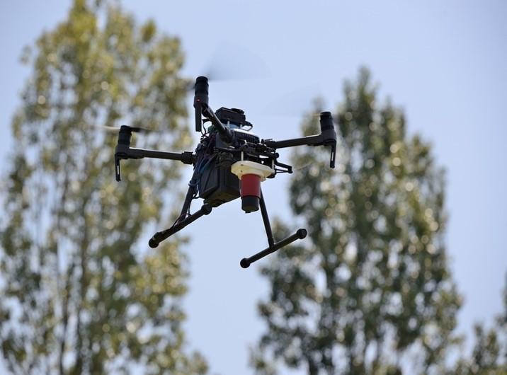 integrazione drone - sensore radiazioni