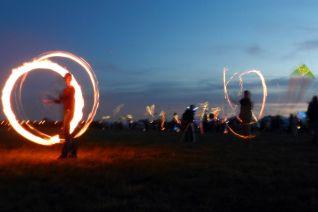 Feuer-Jonglieren