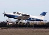 avion F-GNZY - en vol