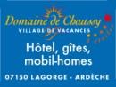 Le Domaine de Chaussy, village de vacances proche des Gorges de l'Ardèche et du Pont d'Arc