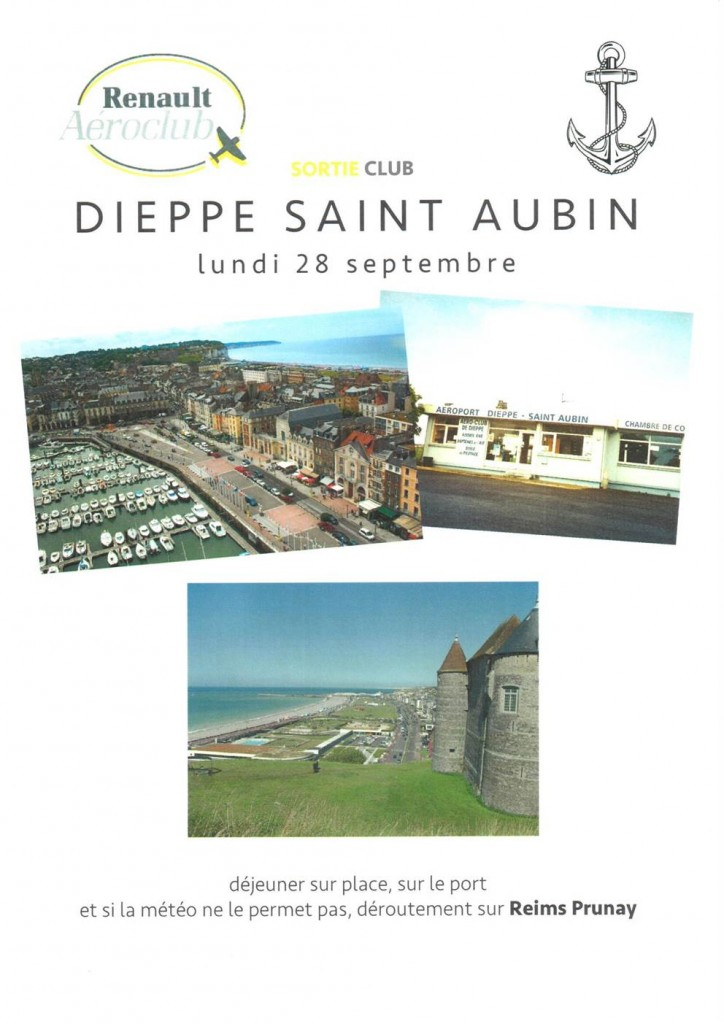 Sortie club Dieppe Saint Aubin