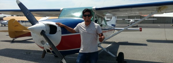 New Commercial Pilot – Saul Meza