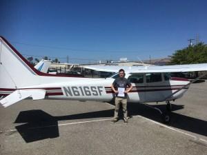 commercial pilot, cpl, C172 RG