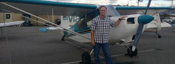Tailwheel Endorsement – Dave Heckel