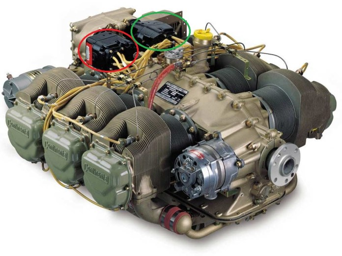 Motor continental IO-520