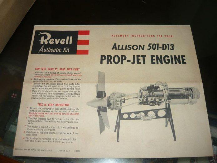 Motor Allison que equipou por exemplo o Electra, tem diagrama simples e menos moderno porém bem confiável.