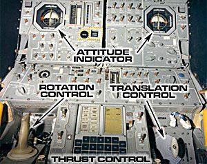 Comandos da Apolo 11.