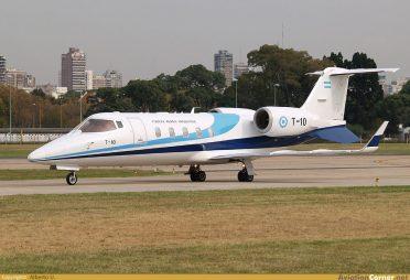 Learjet 60 (T-10)