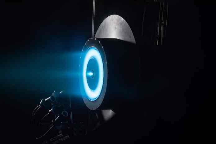 Teste com motor nuclear pela NASA. Foto - NASA