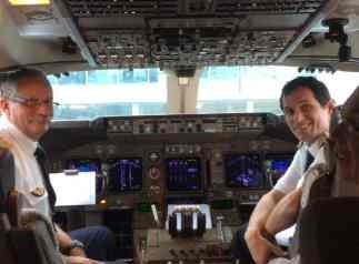 Pilotos da Air France.