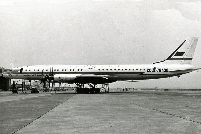 Tupolev 114.