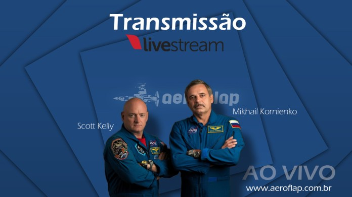 Live Streaming - SpaceX Rocket | Scott Kelly e Mikhail Kornienko