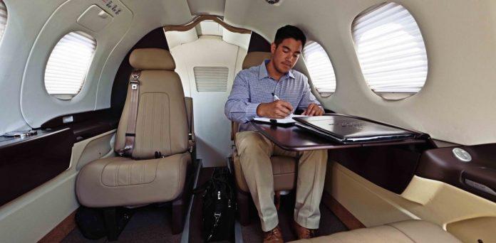 Interior do Phenon 100 da JetSuite | 📷©Constant Aviation
