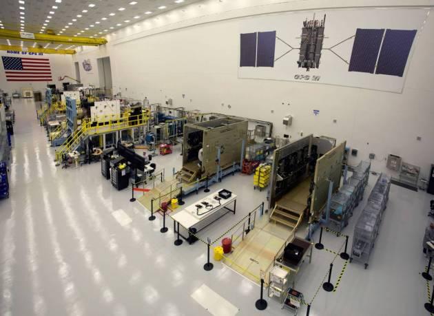 GPS III Manufacturing