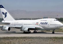 Iran Air Boeing Irã Estados Unidos