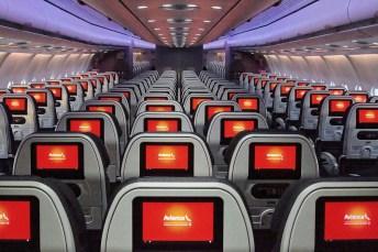 Interior A330-200 Avianca | Foto - Avianca Brasil/Reprodução