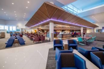 SkyClub no Hartsfield Jackson International airport. Foto - Delta/Reprodução