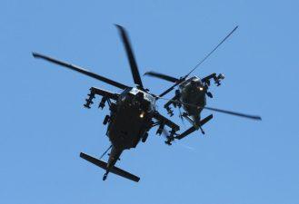 Helicópteros Black Hawk da Colômbia. Foto - Força Aérea Brasileira/EDA