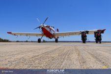 Air Tractor dos Bombeiros do Distrito Federal.