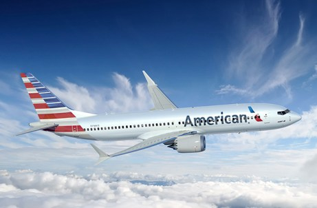 737 MAX 8 American Airlines (Foto: Boeing)