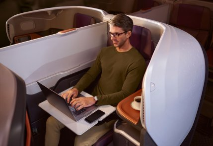 Business Class Singapore A380