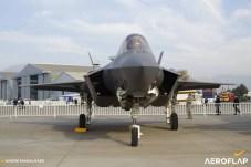 Lockheed Martin F-35A USAF/Foto: André Magalhães-Aeroflap